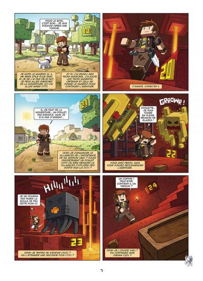 Page 7 Frigiel et Fluffy - La BD dont tu es le héros