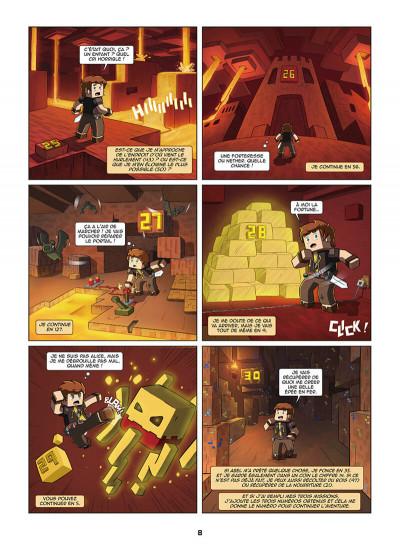 Page 8 Frigiel et Fluffy - La BD dont tu es le héros