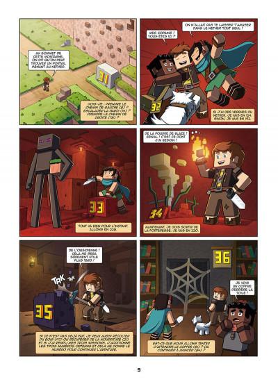 Page 9 Frigiel et Fluffy - La BD dont tu es le héros