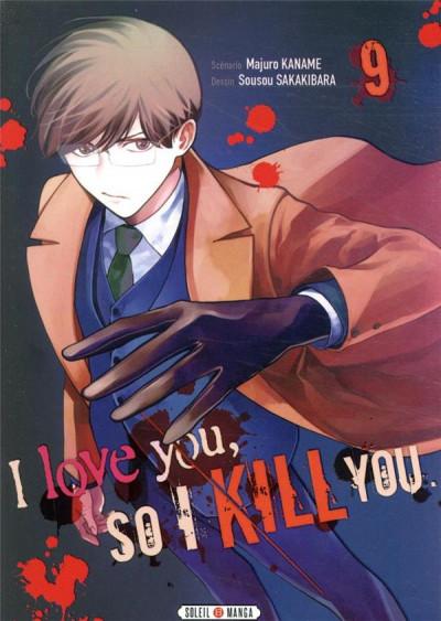 Couverture I love you so i kill you tome 9