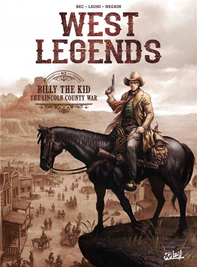 Couverture West legends tome 2