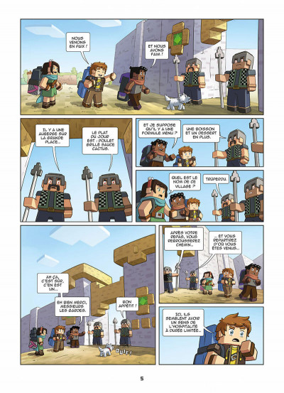 Page 5 Frigiel et Fluffy tome 8