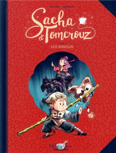 Couverture Sacha et Tomcrouz tome 3