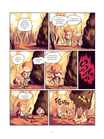 Page 5 Sacha et Tomcrouz tome 3