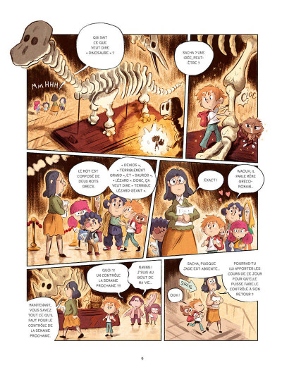 Page 9 Sacha et Tomcrouz tome 3
