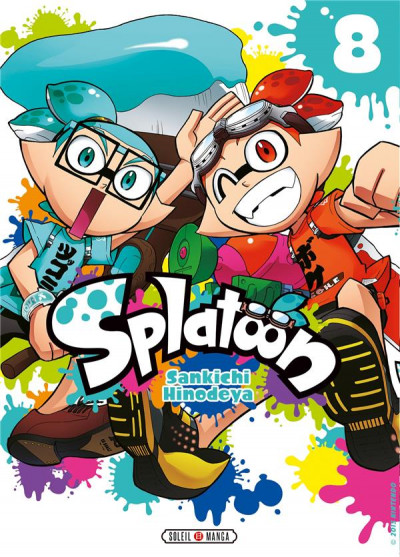 Couverture Splatoon tome 8