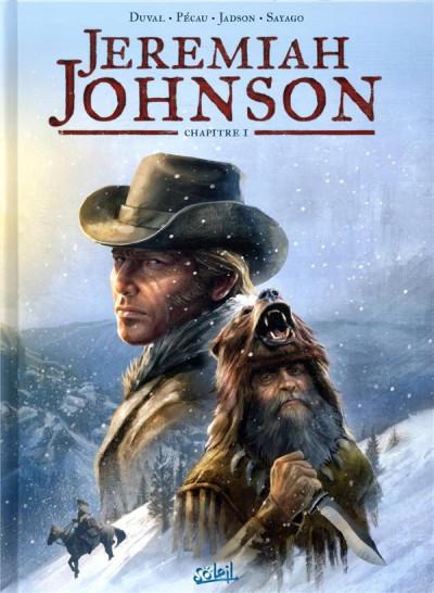 Couverture Jeremiah Johnson tome 1 + ex-libris offert