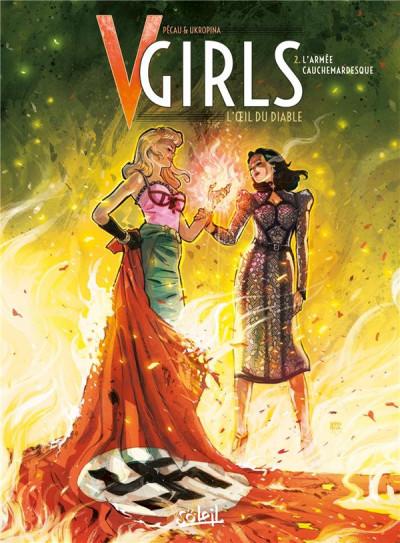 Couverture V-Girls, l'oeil du diable tome 2