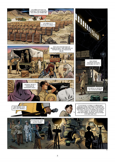 Page 5 V-Girls, l'oeil du diable tome 2