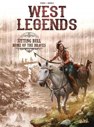 Couverture West legends tome 3