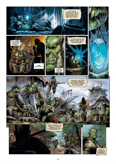 Page 8 Orcs & gobelins tome 10