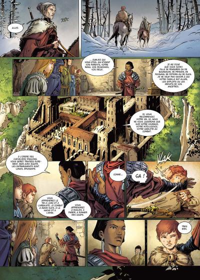 Page 7 La geste des chevaliers dragons tome 30