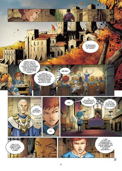 Page 8 La geste des chevaliers dragons tome 30
