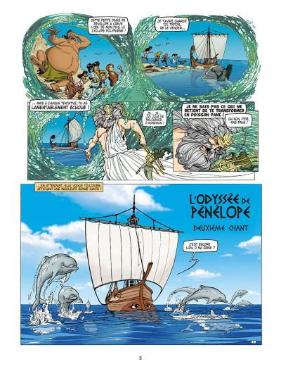 Page 3 L'odyssée de Pénélope tome 2