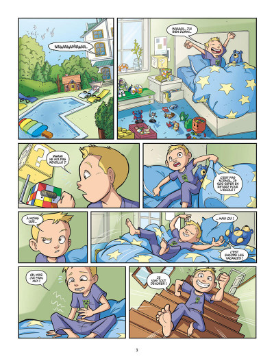 Page 3 Swan et Néo tome 1