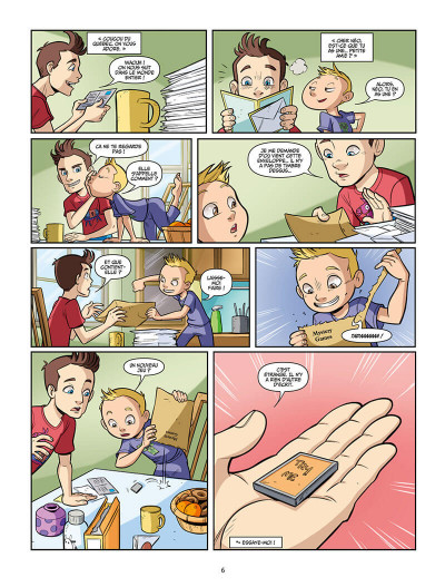 Page 6 Swan et Néo tome 1