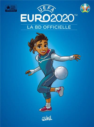 Couverture Euro 2020 - La BD officielle