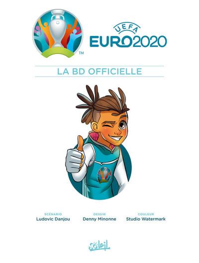 Page 1 Euro 2020 - La BD officielle