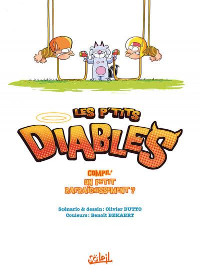 Page 1 Les P'tits Diables - hors série - La compil' des champions