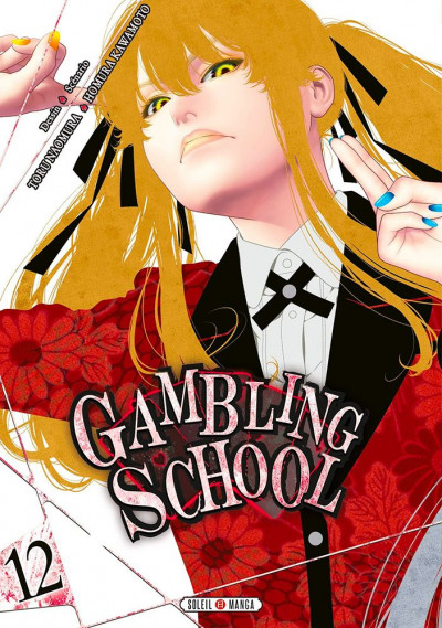 Couverture Gambling school tome 12