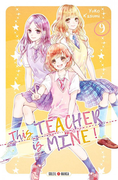 Couverture This teacher is mine ! tome 9