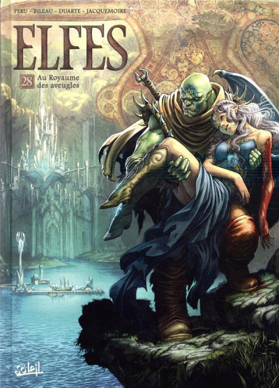 Couverture Elfes tome 28