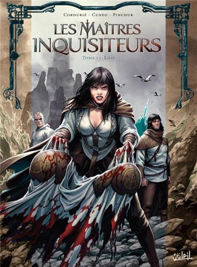 Couverture Les maîtres inquisiteurs tome 15