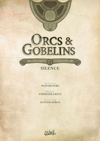 Page 1 Orcs & gobelins tome 9