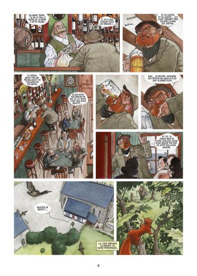 Page 8 Le pré derrière l'église tome 1