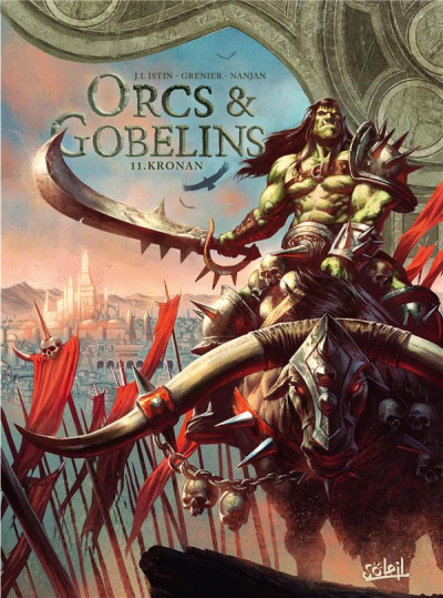 Couverture Orcs & gobelins tome 11