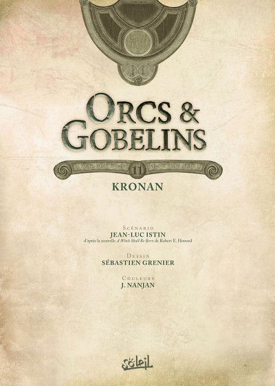 Page 1 Orcs & gobelins tome 11