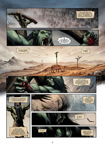 Page 9 Orcs & gobelins tome 11