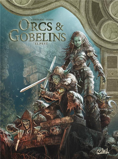 Couverture Orcs & gobelins tome 12