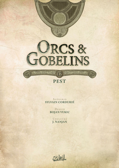 Page 1 Orcs & gobelins tome 12