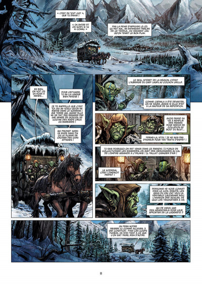 Page 8 Orcs & gobelins tome 12