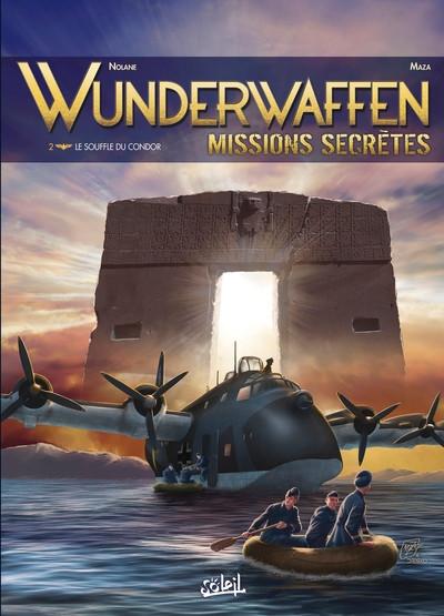 Couverture Wunderwaffen missions secrètes tome 2