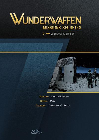 Page 1 Wunderwaffen missions secrètes tome 2