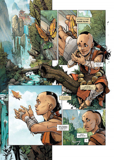 Page 8 Shaolin tome 1