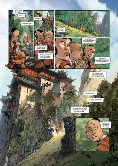 Page 9 Shaolin tome 1