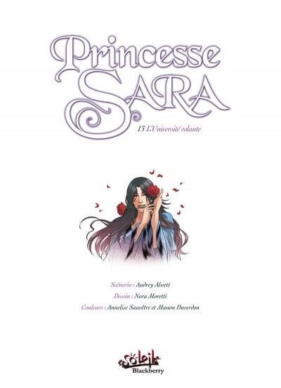 Page 1 Princesse Sara tome 13