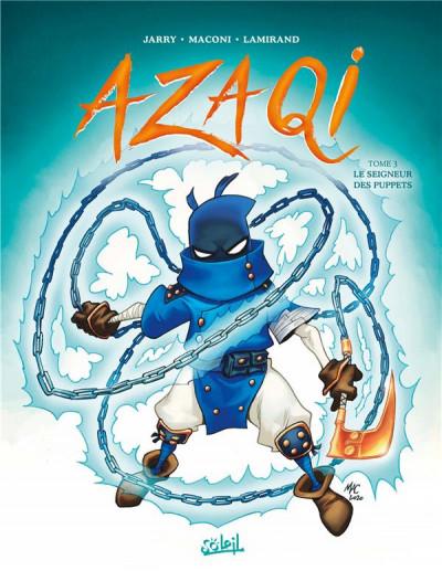 Couverture Azaqi tome 3
