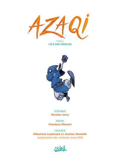 Page 1 Azaqi tome 3