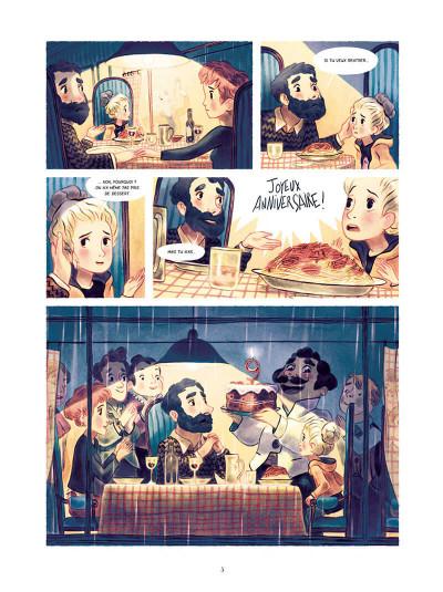 Page 5 L'épouvantable peur d'Épiphanie Frayeur tome 2