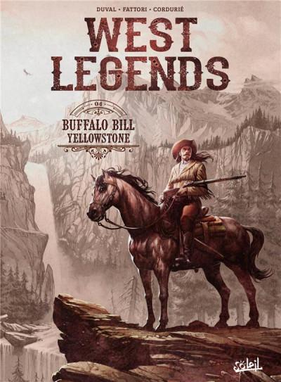 Couverture West legends tome 4