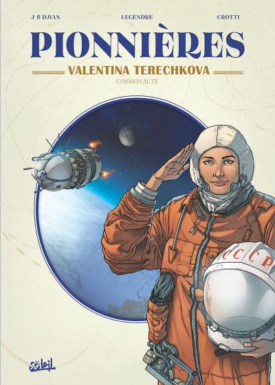 Couverture Pionnières - Valentina Terechkova, cosmonaute