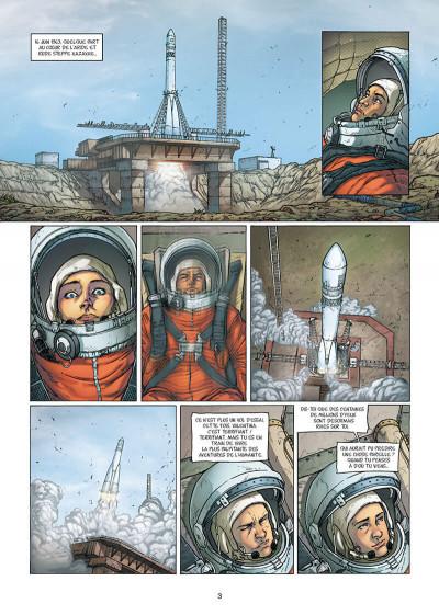 Page 3 Pionnières - Valentina Terechkova, cosmonaute