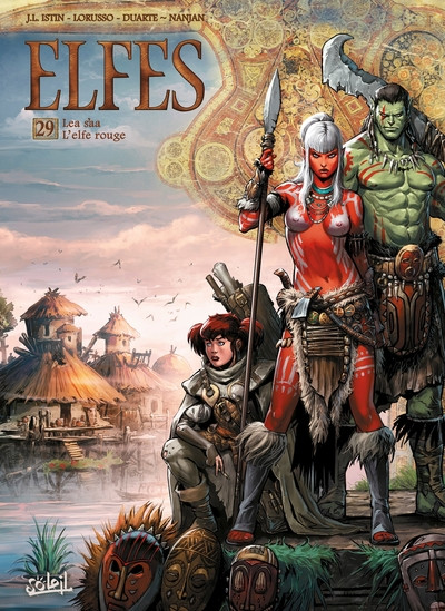 Couverture Elfes tome 29