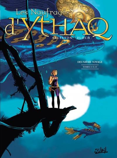 Couverture Les naufragés d'Ythaq - intégrale tomes 13 à 15