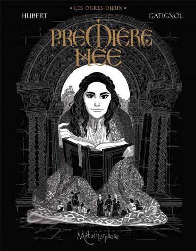 Couverture Les ogres-dieux tome 4 + ex-libris offert