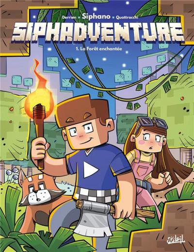 Couverture SiphAdventure tome 1
